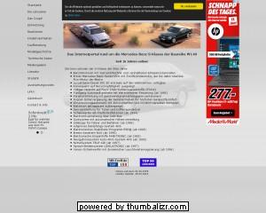 Das Internetportal rund um die Mercedes-Benz S-Klasse der Baureihe W140