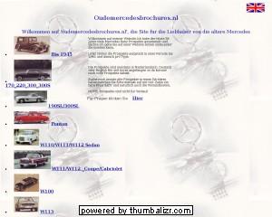 Prospektübersicht Mercedes-Benz