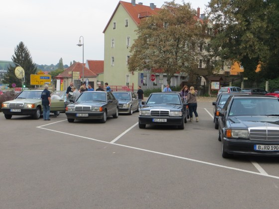 Rückfahrt in Meissen zur SET 2015