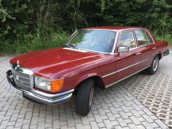 W116 rot 280SE