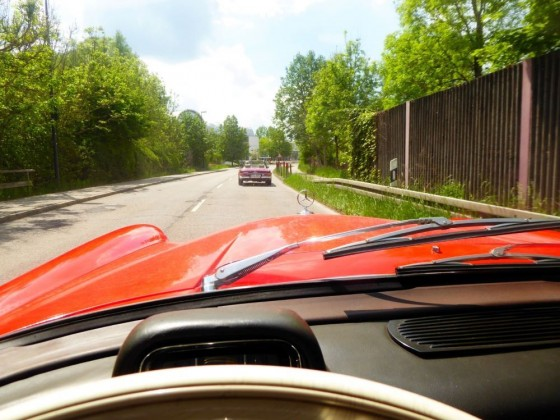 Erstausfahrt nach langer Zeit (...listen to the engine...)