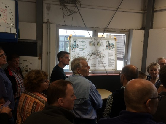 W112 Treffen Sept. 2018 in München Workshop Luffederung 5