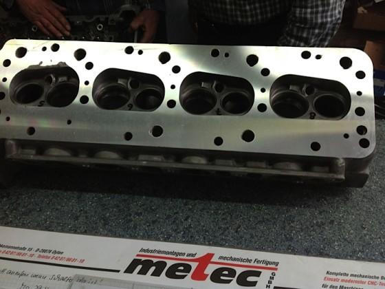 Frisch überholter Motorenkopf vom Motenbauer