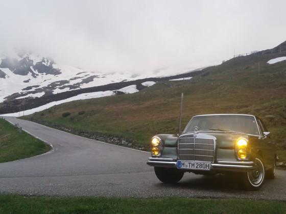 Anreise Ornbau 2019 über den Splügen Pass (Italien/Schweiz)
