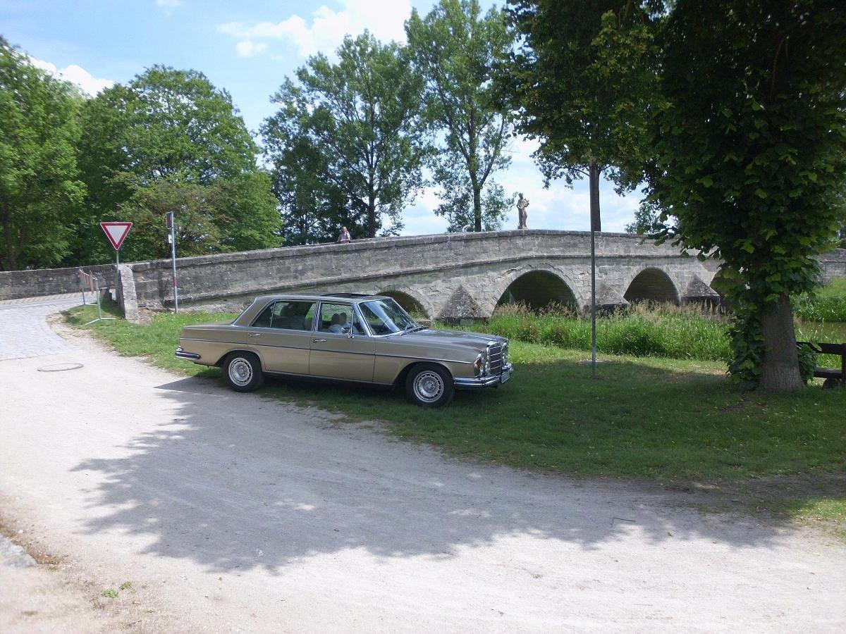 An der Brücke in Ornbau