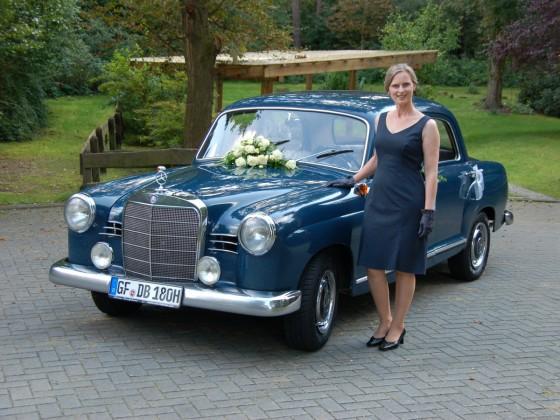 Mercedes Benz 180b Ponton
