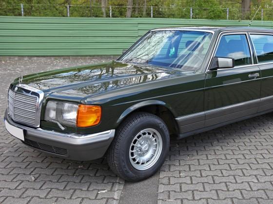 Hulk - W126 - 500SEL - Eibengrün - Dunkeloliv - Bj. 11/1983