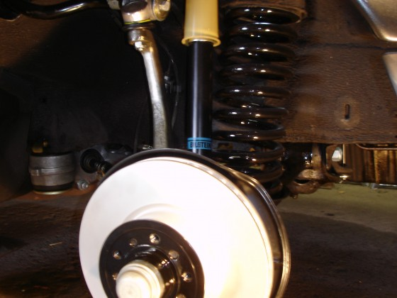 W126 Vorderachse