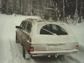Norwegische Winterstimmung, '81 300TD Turbodiesel