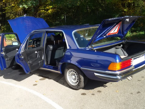 450 SEL 931 magnetitblau metallic