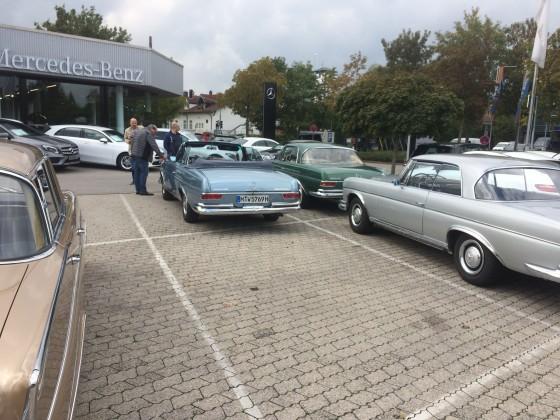 W112 Treffen Sept. 2018 in München Workshop Luffederung 8