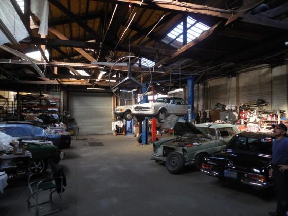 Werkstattszene in Santa Paula