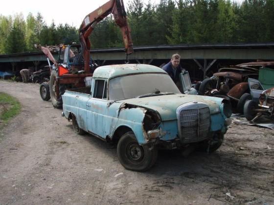 Binz Flossen Pickup