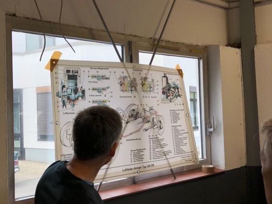 W112 Treffen Sept. 2018 in München Workshop Luffederung 4