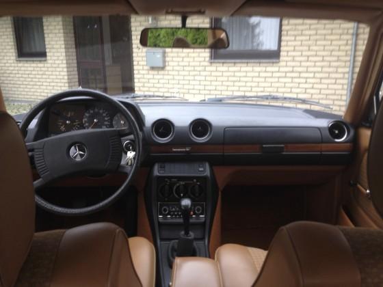 W123 Innenraum