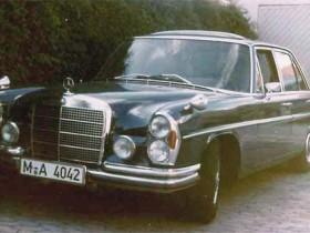 1982 war das Winis erster Mercedes, gefahren zwischen 1982 bis 1984