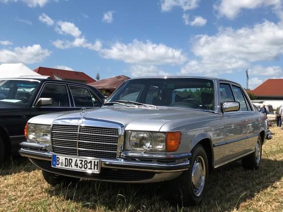 280 SE Bj. 1980 von Mathias, aufgenommen auf dem Jahrestreffen des vdh in 2019
