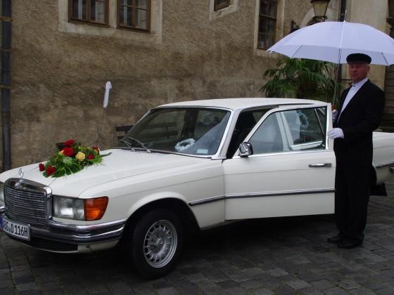Ich fahre auch gern mal ne Hochzeit