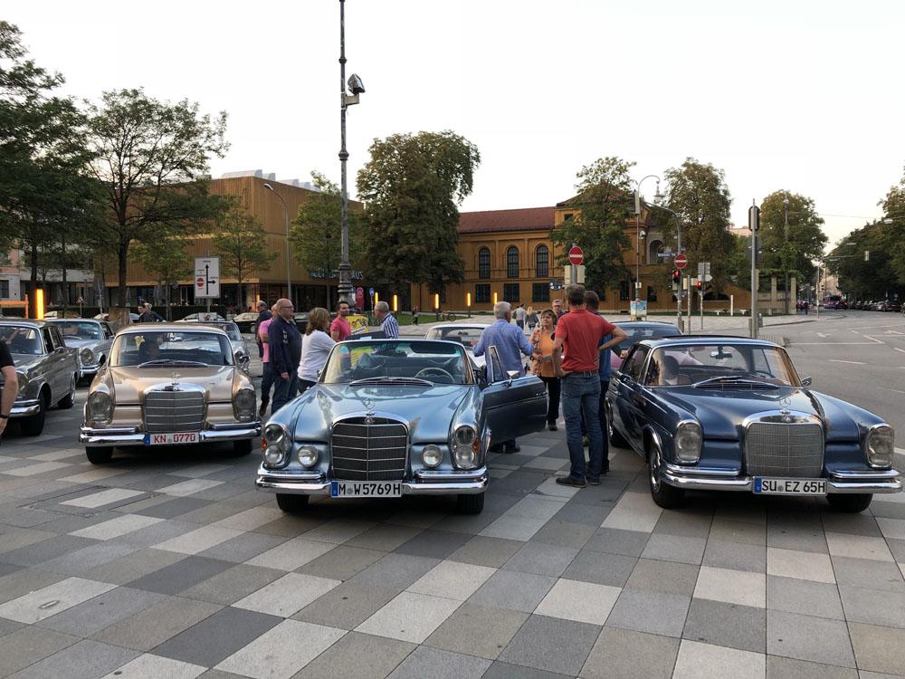 W112 Treffen München Königsplatz