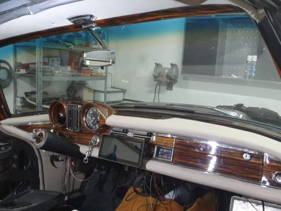 W111 Coupe - inneraum - restauration