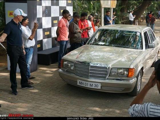 """Mein 560SEL in Indien, Spitzname """"Ghandi"""""""