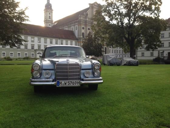 Kloster Fürstenfeld 2014 W111 Coupe
